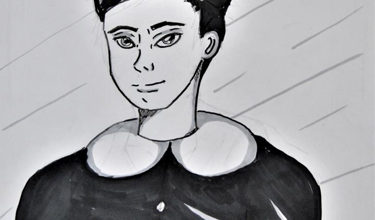 Illustrazione manga di Matteo Ripa